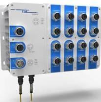 卓越信通 Titan418系列 IP67三层工业以太网交换机