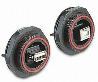 英國Bulgin PX0845/A/PX0845/B USB連接器