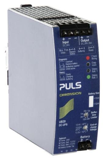 普尔世 UB20.241--PULS 20A直流不间断电源