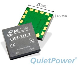 Picor QuietPower QPI-21高密度有源EMI滤波器