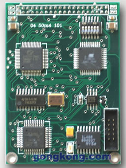 鼎實創新 雙口RAM通訊的PROFIBUS嵌入式總線接口:PB-OEM1-DPRAM