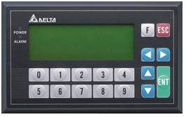 台达 TP04G-BL-C 数字键输入型文本