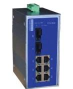 讯展 I10系列 导轨式非网管工业交换机