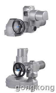 欧玛 SA/GK或SA/GST 多回转执行器配伞齿齿轮箱或直齿齿轮箱