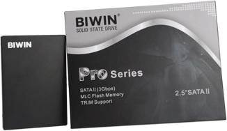 """BIWIN Pro系列2.5""""SATAII 固态硬盘"""