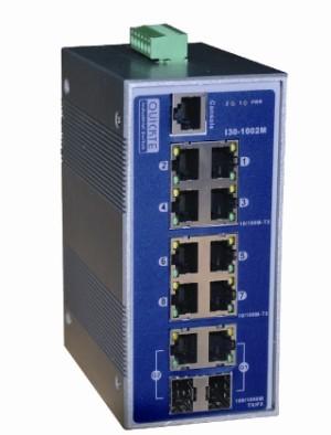 讯展 I30系列导轨式网管工业交换机