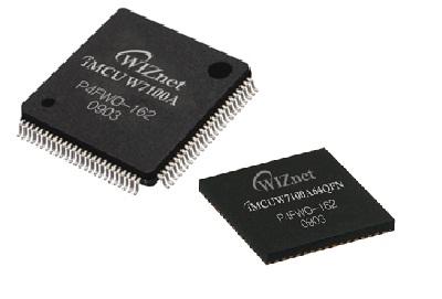 博控 W7100A TCP/IP协议栈和10/100快速以太网MAC/PHY的单芯片微控制器