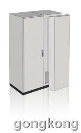 雷子克-rack 5FCC2000DRA门装制冷机(双门)