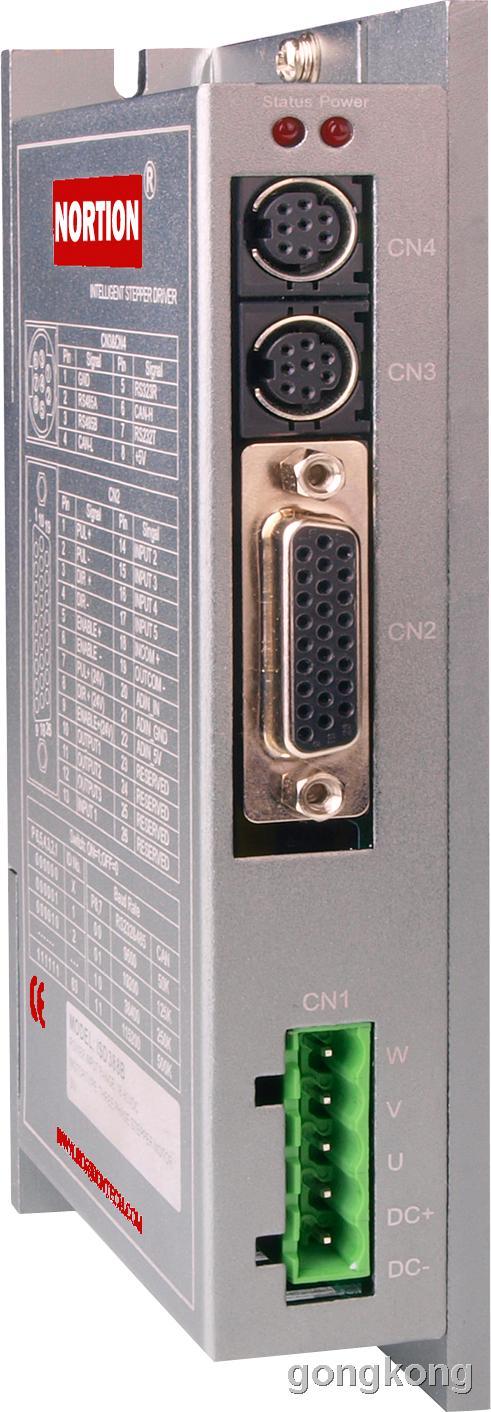 諾信泰 ISD388B 80V/8A 總線型 三相智能步進驅動器