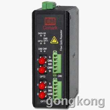 讯记 CAN总线冗余光纤中继器