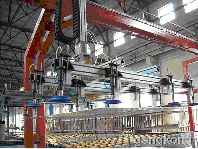 MOTEC 玻璃搬运码垛CNC数控系统