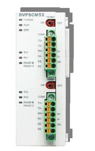 台达 DVPSCM52-SL 通讯模块