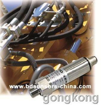 德国BD SENSORS   CMP 335焊接式无填充液CANopen压力变送器