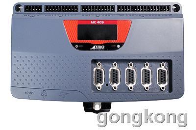 Trio MC405是一款高性能的运动协调控制器