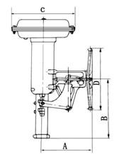 azbil VP型 气动薄膜执行机构