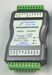 顺源科技   SY AD 02C温度传感器多路信号检测控制模块
