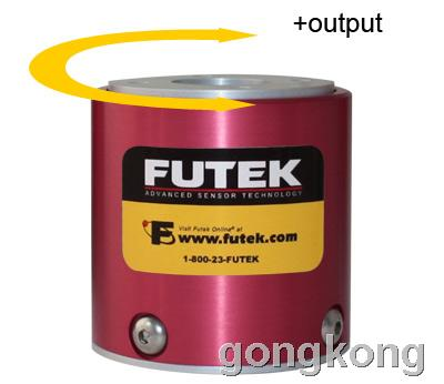 美国 FutekTFF400 反作用力型(静态)扭矩传感器