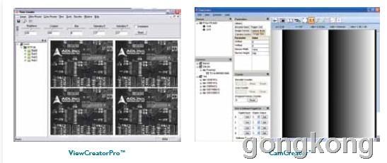 凌华科技 ViewCreatorPro/CamCreator图像采集卡的图像开发工具