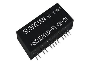 順源科技 0-10V轉兩路4-20mA集成電路隔離變送器