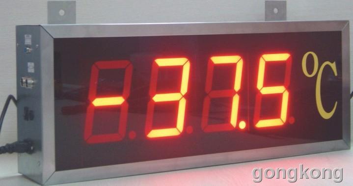 苏州迅鹏 大屏幕温度显示器