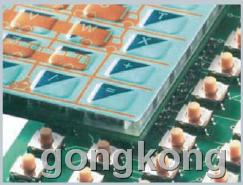 美卡诺  带一体化电子元件的键区
