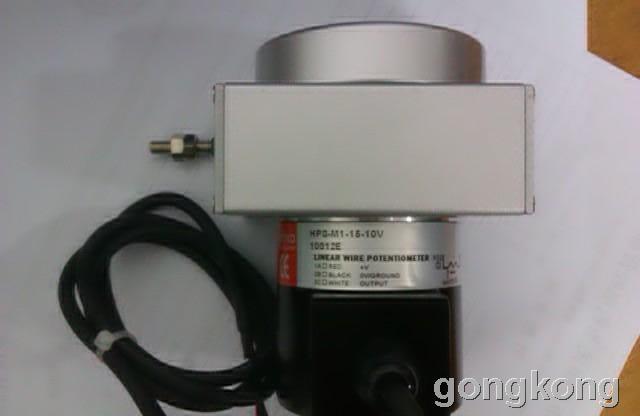 台湾HONTKO  HPS-M1-15-420拉绳位移传感器,拉绳开关