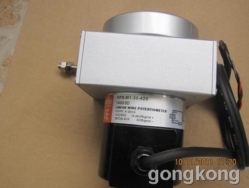 台湾HONTKO  HPS-M1-30-420拉绳开关,直线位移传感器