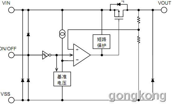 SII   S-812C系列 高耐压CMOS电压稳压器