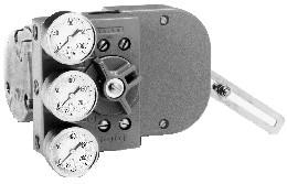 azbil HTP型 单作用气动阀门定位器