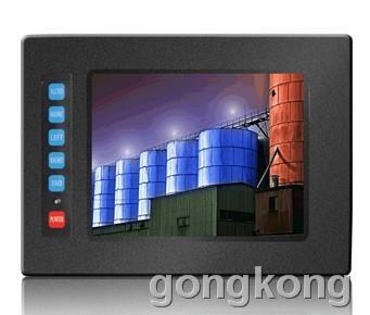 奇创彩晶    宽温高亮显示器/6.4寸嵌入式工业显示器