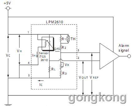 FIGARO   LPM2610系列气体传感器