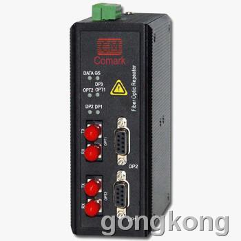 讯记 canopen光电转换器 总线双网冗余中继器