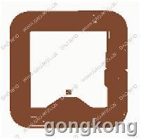荞麦科技 国感  高频正方形纸质RFID标签