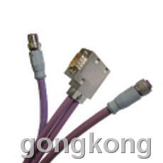 ELCO-宜科 Profibus M12/D-Sub预注Profibus电缆
