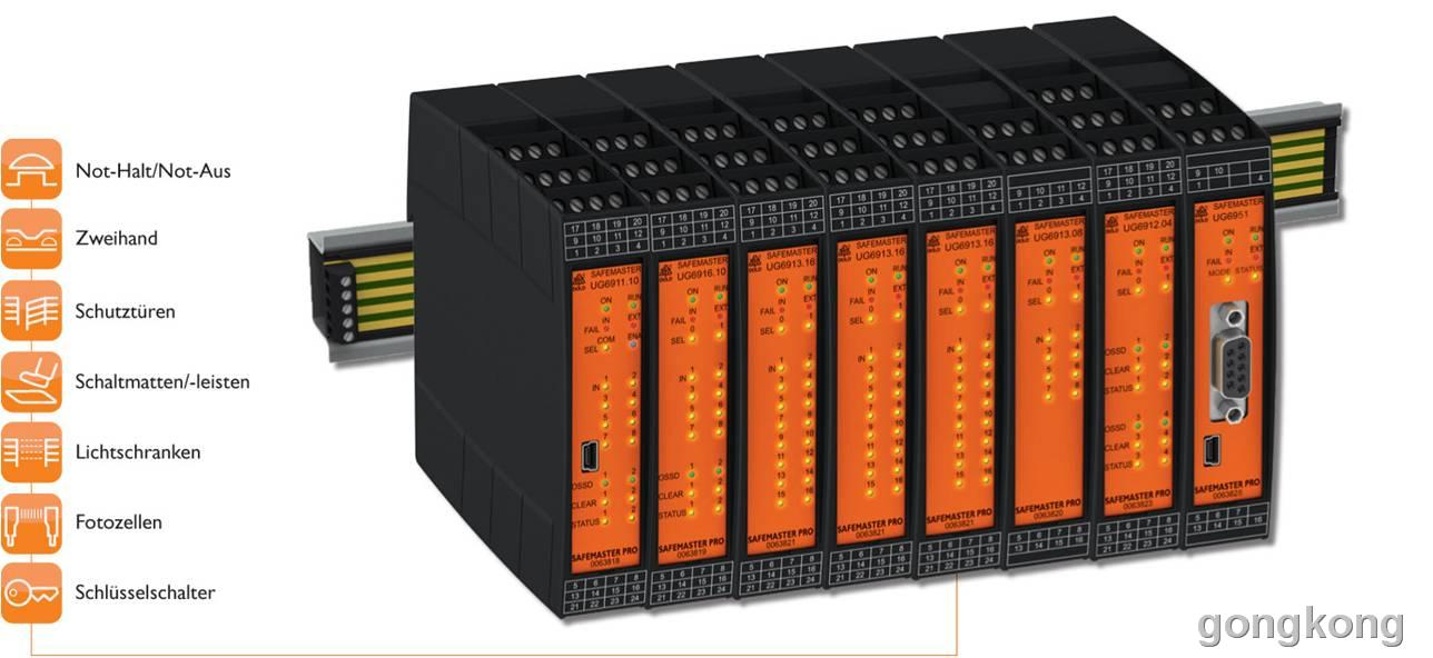 DOLD SAFEMASTER PRO 可编程安全模块
