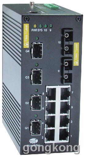 首迈 PTS 740系列高级管理型千兆工业交换机