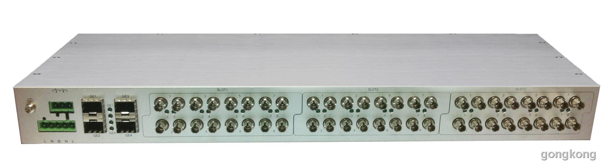 首迈 PTS 6228模块化4G+24口千兆高级管理型工业交换机