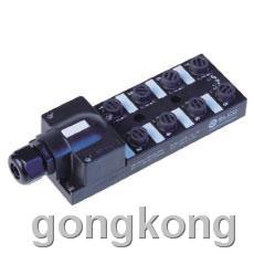 ELCO-宜科 ECP4系列M12接口端子式现场接线型塑料分线盒