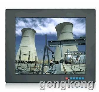 奇创彩晶  五线电阻触摸显示器/17寸嵌入式工业显示器
