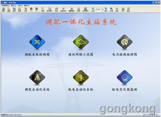 金宏威  GH-PDS2000调配一体化主站系统