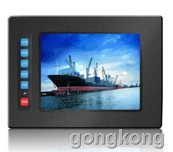 奇创彩晶10系列抗干扰5.6寸嵌入式工业显示器QC-056IPE10T