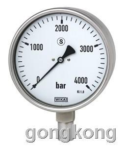 德国WIKA弹簧管压力表