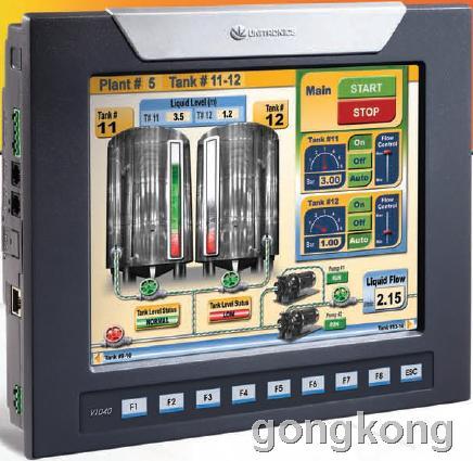 unitronics(犹尼康)  V1040-T20B PLC/HMI系列图控一体化产品