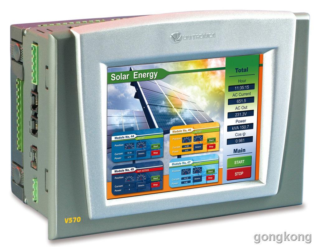 unitronics(犹尼康) V570-T20B PLC/HMI系列图控一体化产品