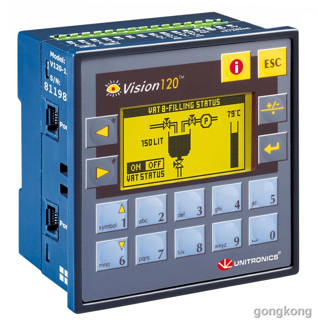 unitronics(犹尼康)PLC V120 系列