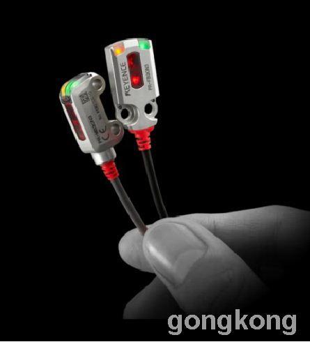 KEYENCE基恩士 PR-M/F系列内置型光电传感器