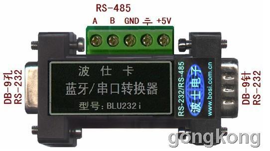 波仕 首款iOS蓝牙/串口转换器BLU232i