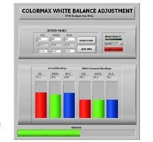 EMX 具白平衡校准功能的ColorMax色彩传感器