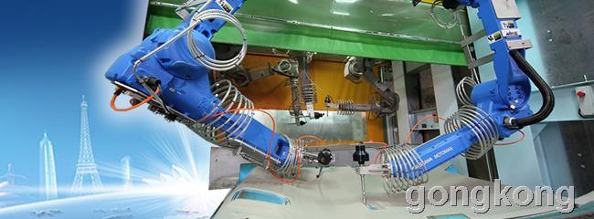 Mirle-盟立机电产业机器人-水刀切割
