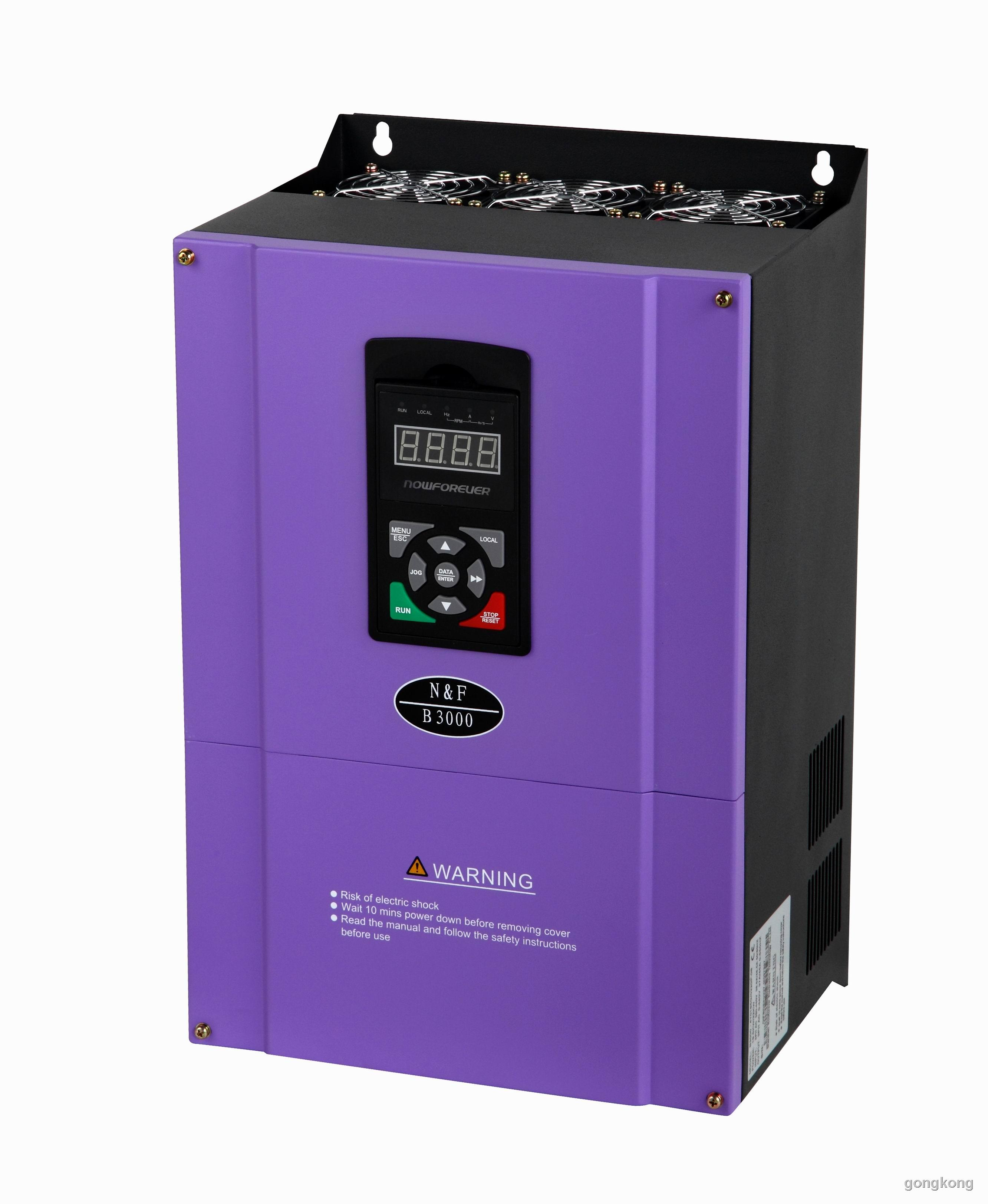 南方安華 B3000系列(18.5∼30 kW)變頻器